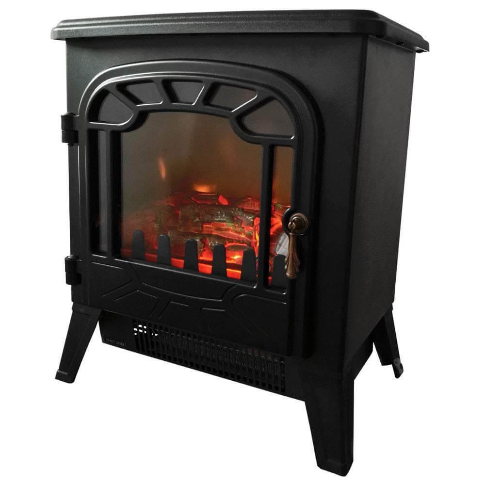 Garden Mile® Log Burner Electric Fire Stove
