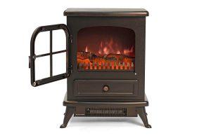 Igenix Freestanding Electric Stove Fireplace Heater