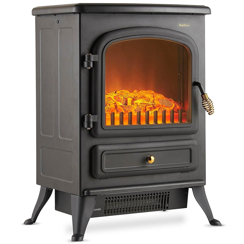 VonHaus Electric Stove Heater