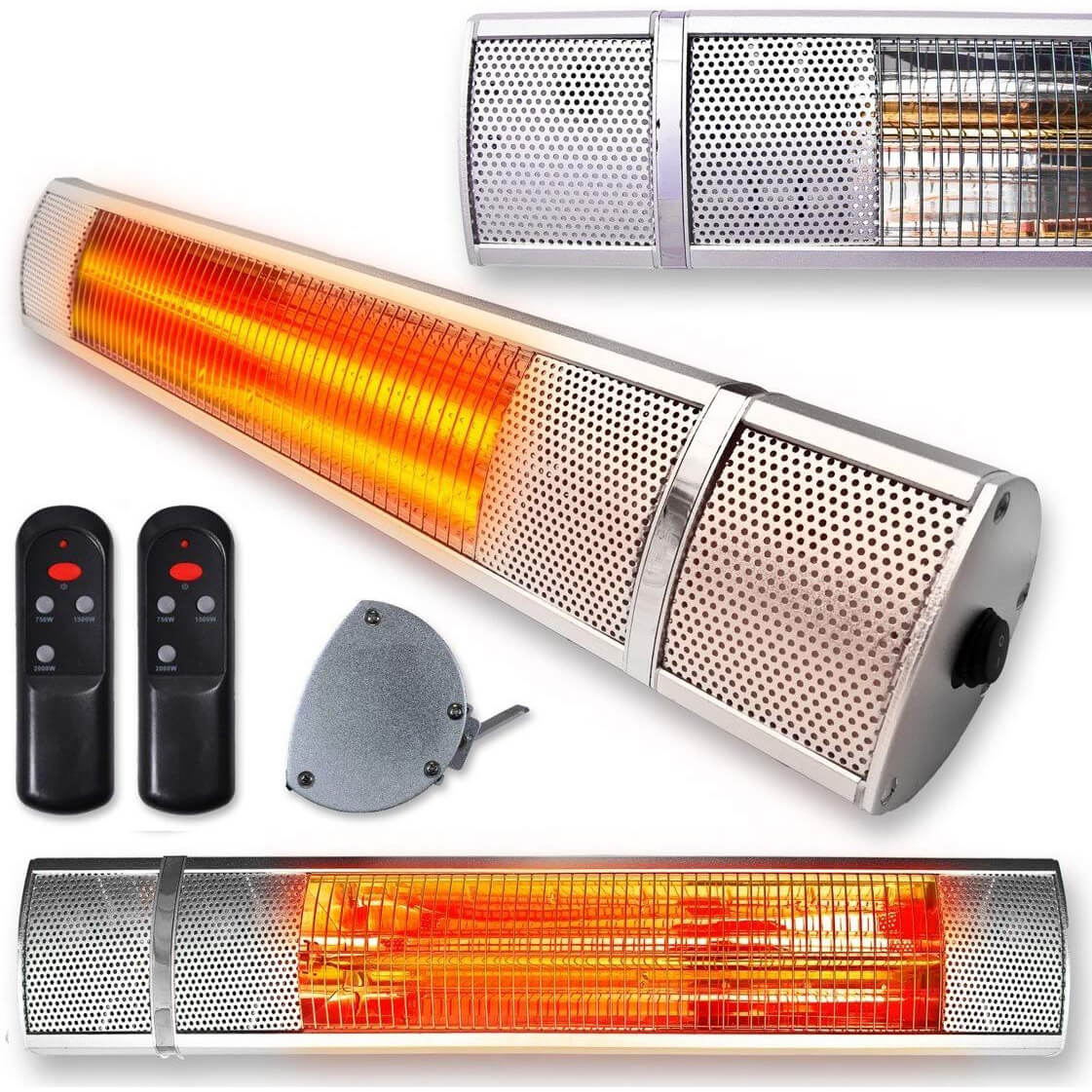 Futura Deluxe Wall Mounted Electric Infrared Patio Heater