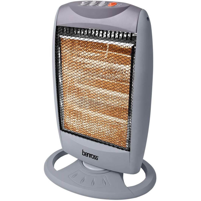 Benross 42400 Oscillating Halogen Heater