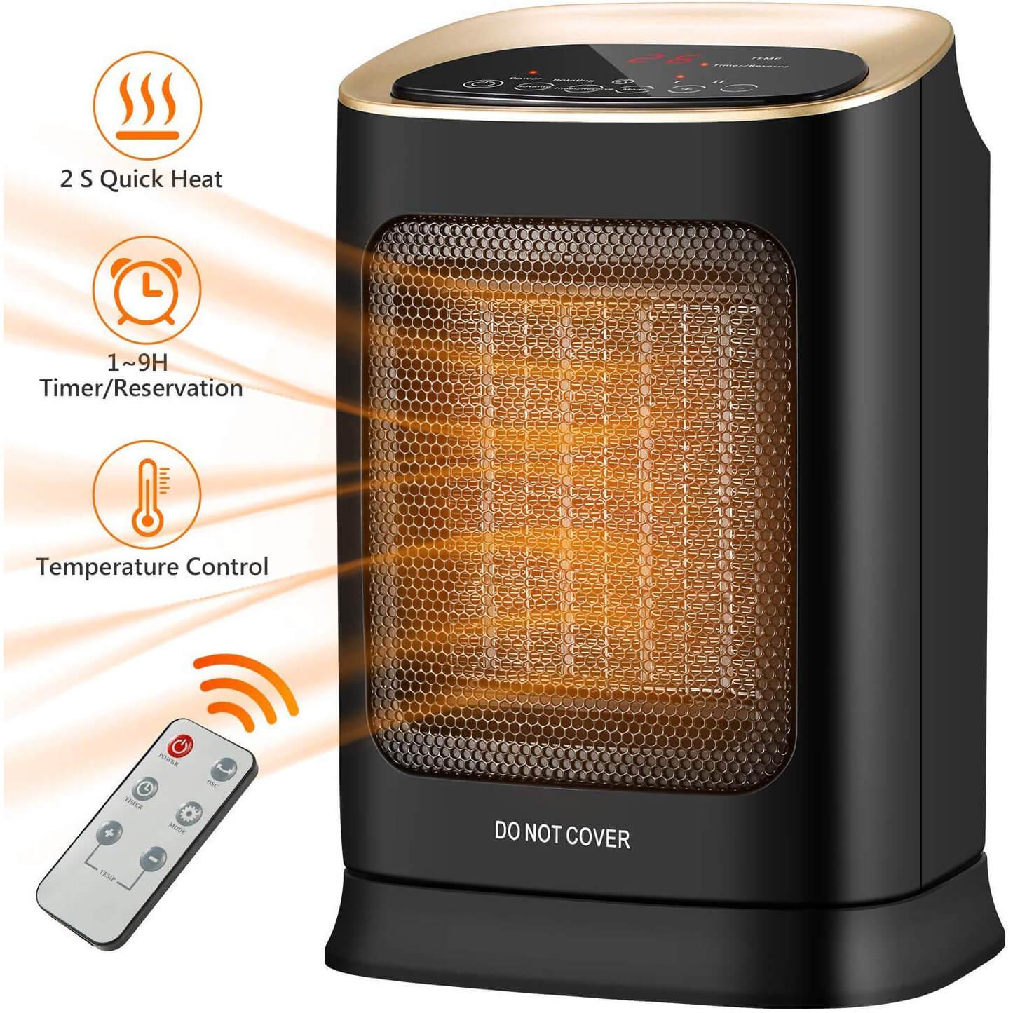 COMLIFE Ceramic Space Heater<