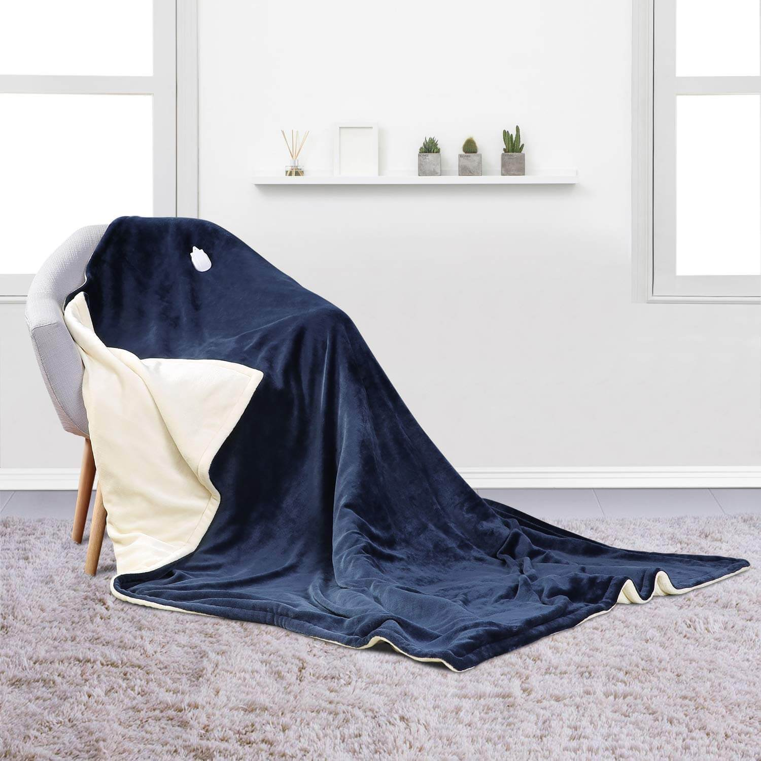 MaxKare Large Electric Heated Blanket