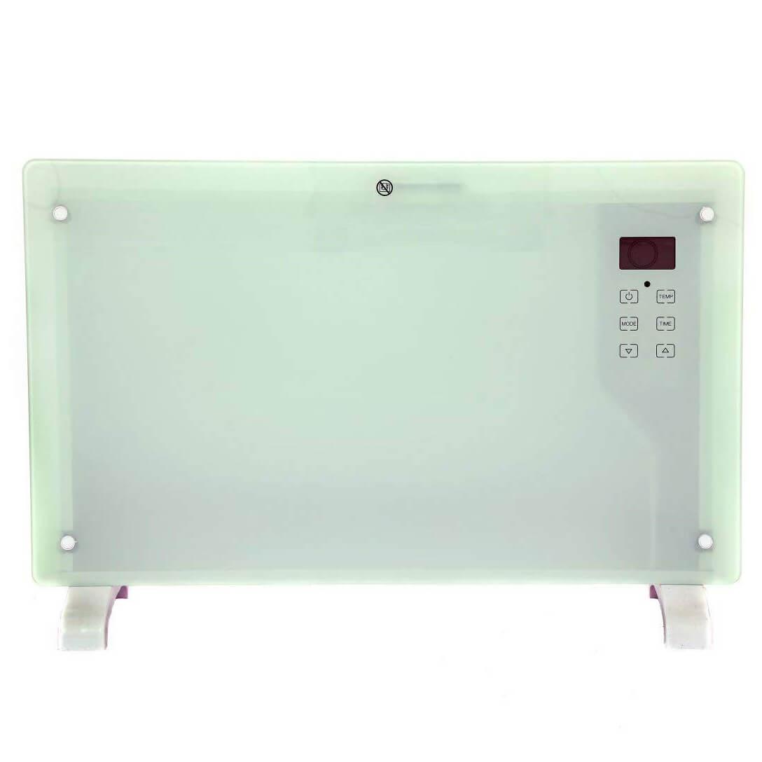 Oypla 2000W White Glass Electric Panel Heater