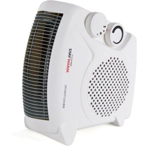 STAYWARM 2000w Upright and Flatbed Fan Heater