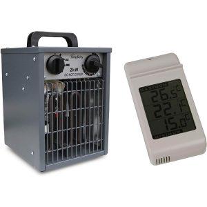 Simplicity Heater Set 2kW Greenhouse Fan Heater