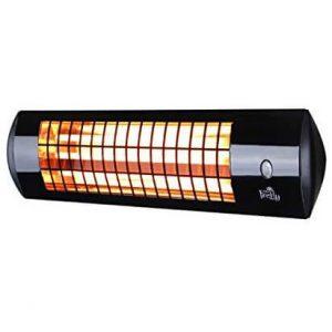 Firefly 1.8kW Wall Mounted Quartz Outdoor Indoor Patio Heater