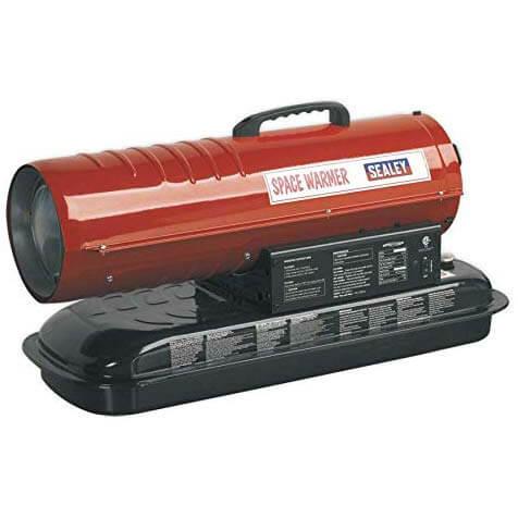 Sealey Space Warmer® Paraffin/Kerosene/Diesel Heater