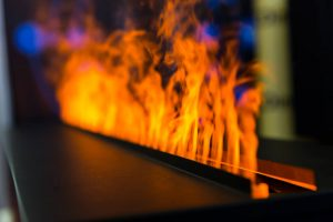 Gas Fireplace Flames