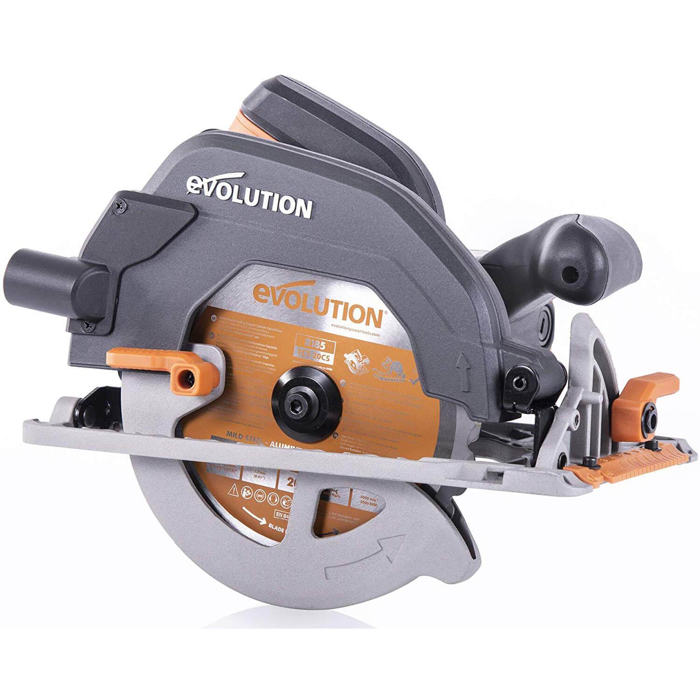 Evolution Power Tools R185CCS Multi-Material Circular Saw