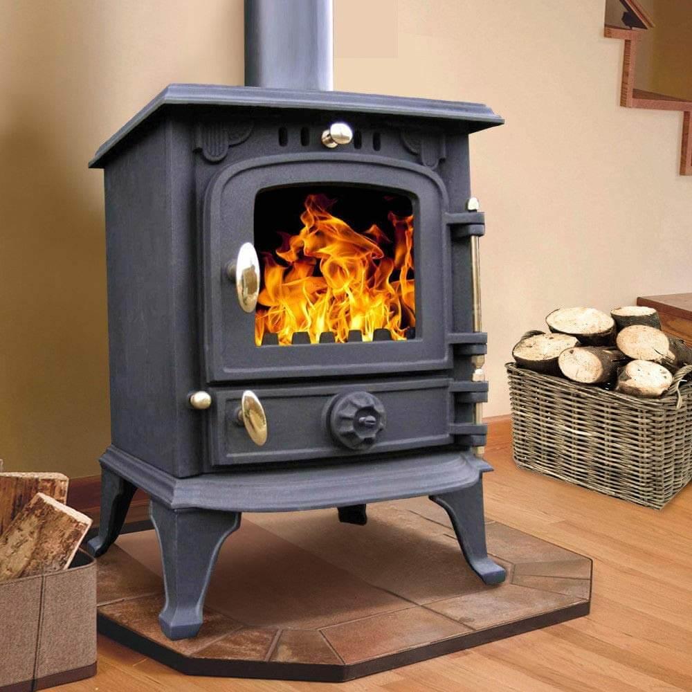 Lincsfire Harmston Multifuel Wood Burning Stove