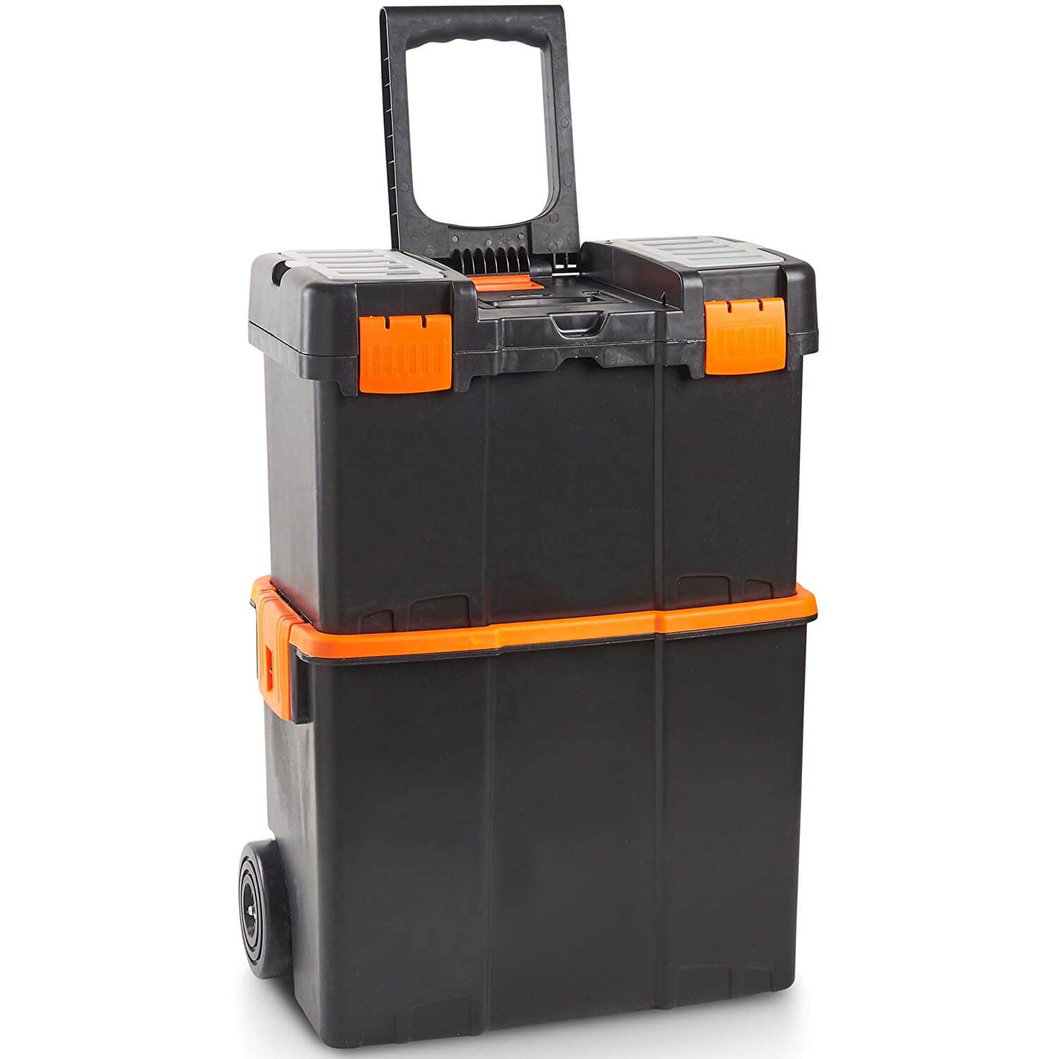 VonHaus Roller Tool Box with Stackable Boxes