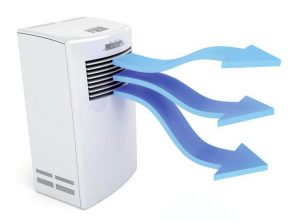 Air Cooler Blowing Cold Air