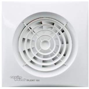Envirovent SIL100T Silent-100T Axial Silent Extractor Fan