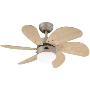 Westinghouse Lighting 78158 Turbo Swirl Indoor Ceiling Fan