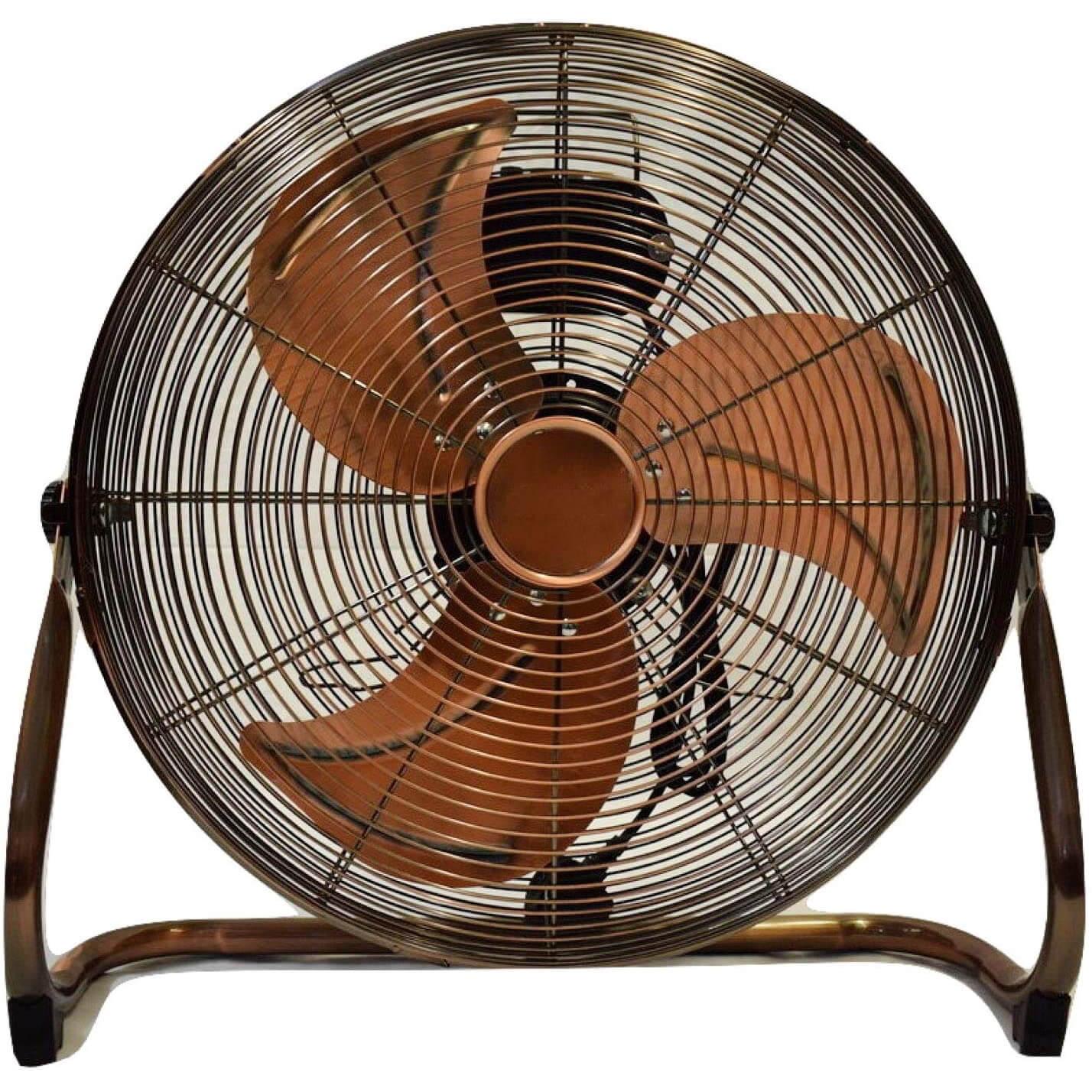 MP Essentials 18″ (45 cm) High Velocity Air Circulator Floor Fan (Copper)