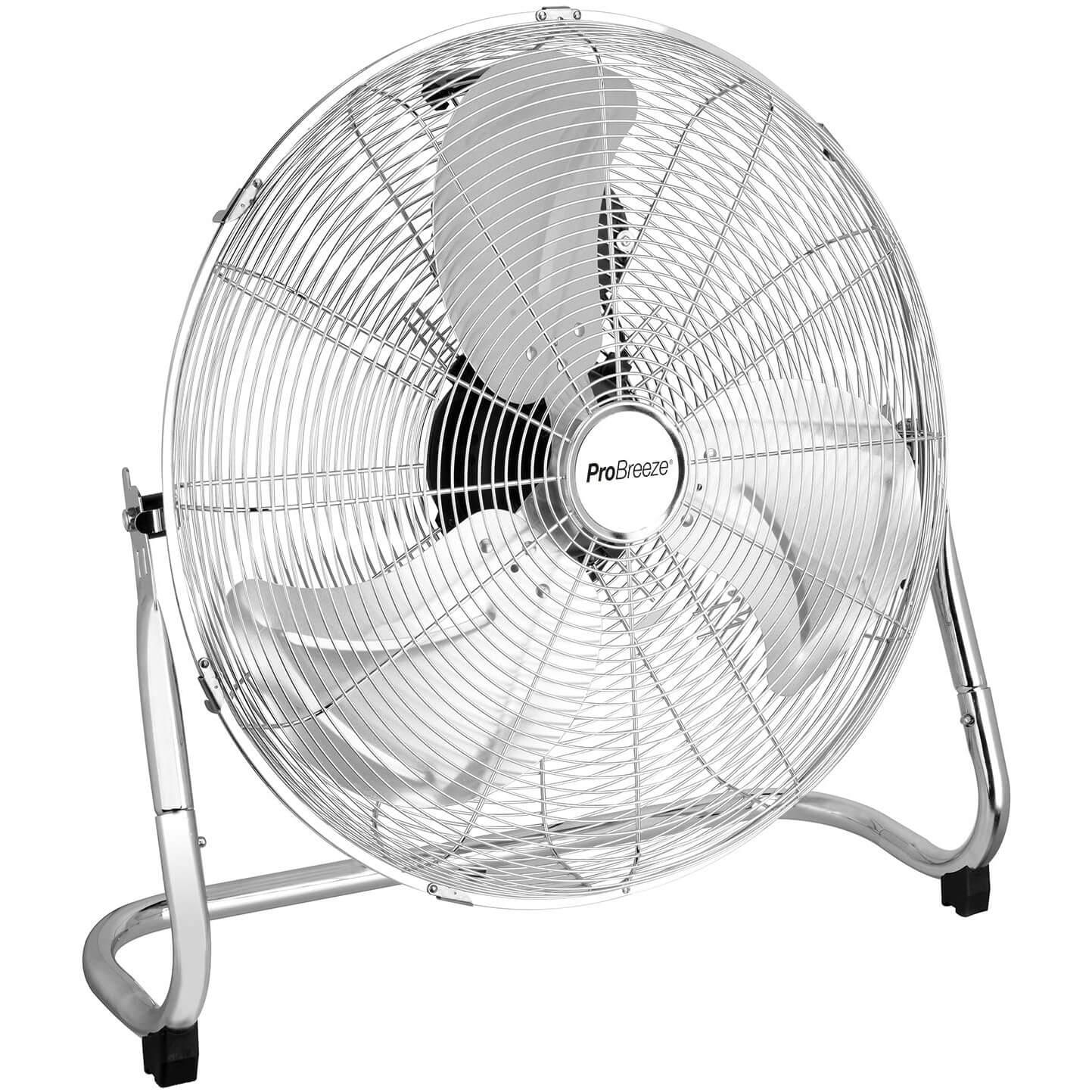 Pro Breeze 20″ Chrome Gym Floor Fan
