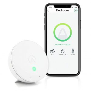 Airthings 292 Wave Mini Indoor Air Quality Monitor
